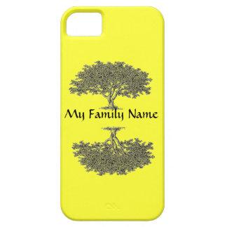 iPhone5 BT y ambiente - árbol de familia iPhone 5 Fundas