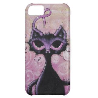 iphone5  case breast cancer awareness cat pink rib iPhone 5C cases