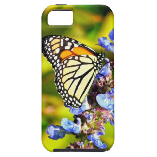 """iPhone5 Case, """"Butterfly On Flower"""" iPhone SE/5/5s Case"""
