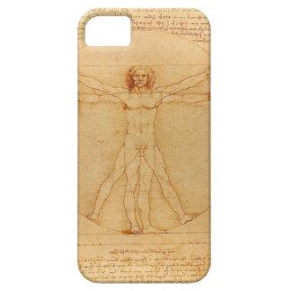 iPhone5 case Leonardo da Vinci Vitruvian Man human iPhone 5 Case