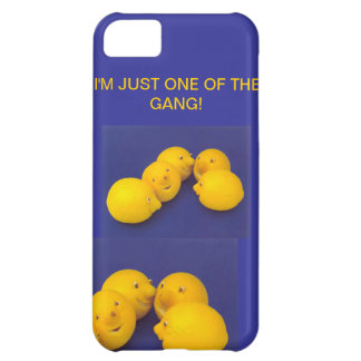 IPHONE5 CASE - ONE OF THE GANG-LEMON MEETING iPhone 5C COVER