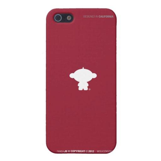 iPhone5 Case / PANDA J9 Shillouette