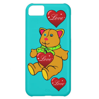 IPHONE5 CASE - TEDDY BEAR IPHONE5 CASE COVER FOR iPhone 5C