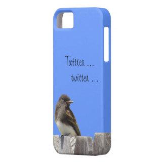iPhone5 CM/BT - Flycatcher on fence iPhone SE/5/5s Case