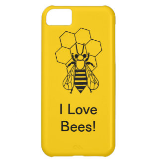 iPhone5 CM/BT - I love Bees! Cover For iPhone 5C