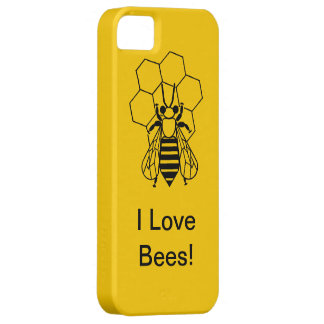 iPhone5 CM/BT - I love Bees! iPhone SE/5/5s Case