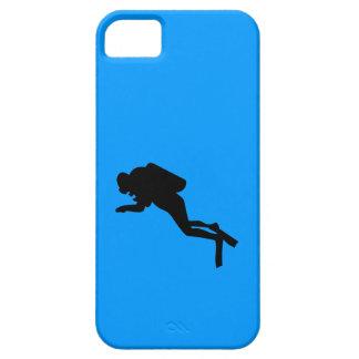 iPhone5 CM/BT - Scuba Diver iPhone SE/5/5s Case