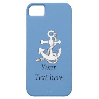 iPhone5 CM/BT - Ship's Anchor iPhone SE/5/5s Case