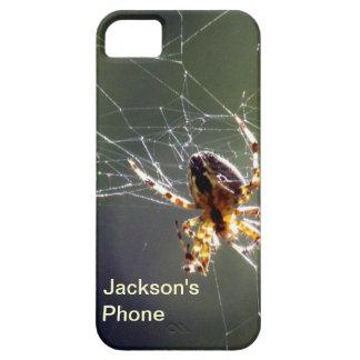 iPhone5 CM/BT - spider on web iPhone SE/5/5s Case