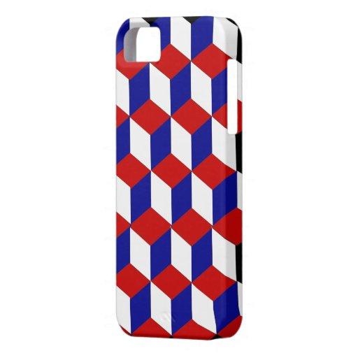 iPhone5 CM/BT  - Three dimensional illusion iPhone SE/5/5s Case