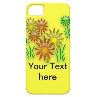 iPhone5 CM/BT - Three dimensional neon daisies iPhone SE/5/5s Case