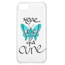 iPhone5: IC Butterfly Hope 4 a Cure Case For iPhone 5C
