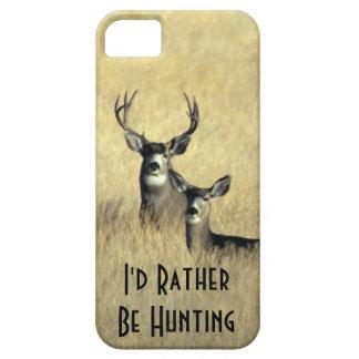 iPhone5 Masculine White Tail Mule Deer Buck Doe iPhone SE/5/5s Case