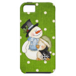 iPhone5 Snowman case mate vibe iPhone 5 Cover