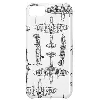 iphone5 Spitfire Military Airforce History Plane Case For iPhone 5C