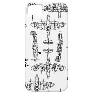 iphone5 Spitfire Military Airforce History Plane iPhone SE/5/5s Case