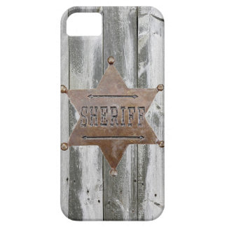IPHONE5 VINTAGE SHERIFF BADGE CASE iPhone 5 CASES