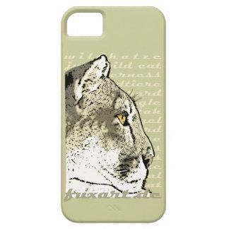 iPhone5 WILDKATZE GATO CAZA iPhone 5 Carcasas