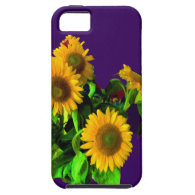 IPHONE5CASE - SUNFLOWERS iPhone 5 COVERS
