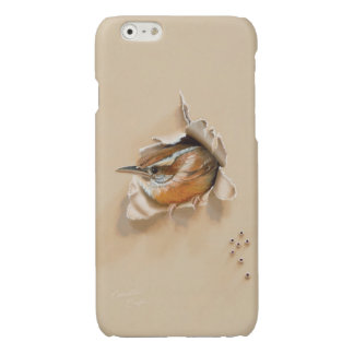 "iPhone6 Case ""Carolina Wren"" by Camille Engel"