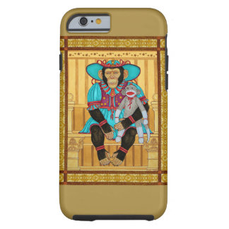 Iphone6 case, chimp art by Zeek Taylor Tough iPhone 6 Case