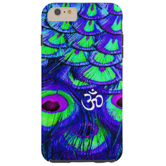 IPHONE6 CASE OM PEACOCK FEATHERS TOUGH iPhone 6 PLUS CASE