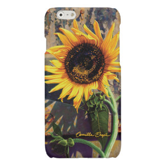"""iPhone6 Case """"Sunflower"""" by Camille Engel Glossy iPhone 6 Case"""