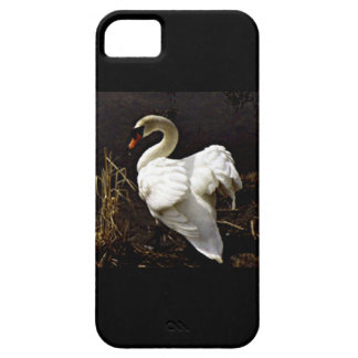 IPHONE6 CASE - WHITE SWAN IN THE WOODS iPhone 5 COVERS