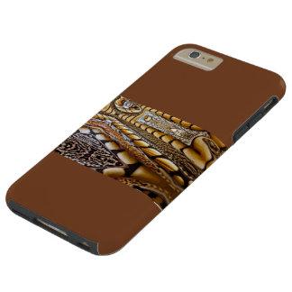 IPHONE6 CASO - DISEÑO EMPLUMADO DEL ARTE PARA ÉL FUNDA PARA iPhone 6 PLUS TOUGH