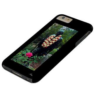 IPHONE6 CASO - ESTATUA DE GANDHI EN EL CUADRADO NY FUNDA RESISTENTE iPhone 6 PLUS