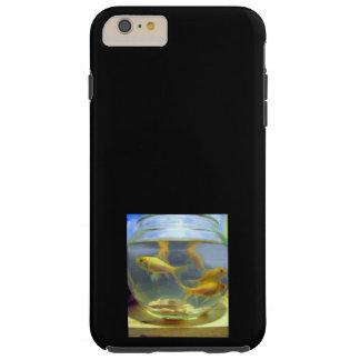 ¡IPHONE6 CASO - GOLDFISH DULCE! FUNDA DE iPhone 6 PLUS TOUGH
