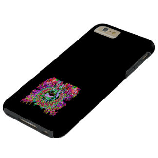 IPHONE6 CASO, SHIVA COLORIDO FUNDA DE iPhone 6 PLUS TOUGH