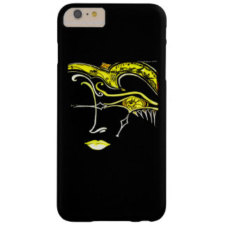 IPHONE6 DECORATIVE DESIGNER FACE BARELY THERE iPhone 6 PLUS CASE