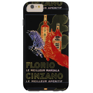 IPHONE6 FASHION CHIC VINTAGE WINE POSTER TOUGH iPhone 6 PLUS CASE