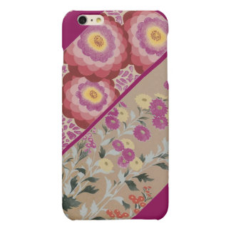 IPHONE6 - LUSCIOUS FLORAL PRINT ACESSORY MATTE iPhone 6 PLUS CASE