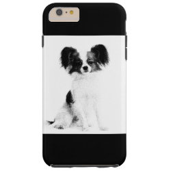 Case-Mate Barely There iPhone 6 Plus Case with Papillon Phone Cases design
