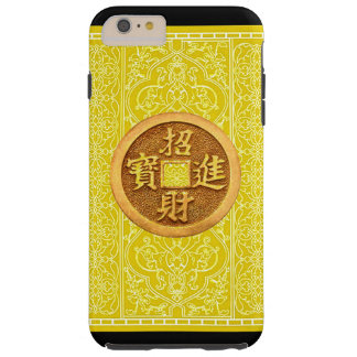 IPHONE6 PROSPERITY SYMBOL CHINESE GOLDEN COIN TOUGH iPhone 6 PLUS CASE