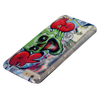 IPHONE6 TOUGH SKELETON GRAFITTI BARELY THERE iPhone 6 PLUS CASE