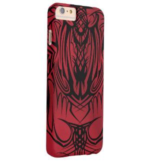 iPhone6 tribal rojo más los casos Funda Para iPhone 6 Plus Barely There