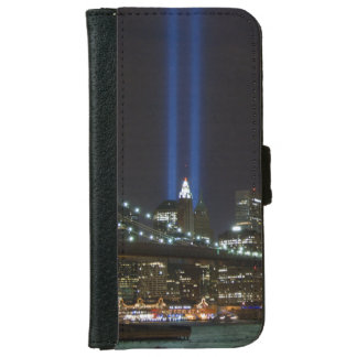 iPhone6 Wallet Case - World Trade at night, NYC