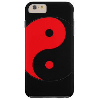 IPHONE6 YINGYANG RED AND BLACK BALANCE TOUGH iPhone 6 PLUS CASE