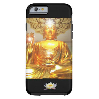 IPHONE6CASE - GOLDEN BUDDHA LOTUS MESSAGE TOUGH iPhone 6 CASE