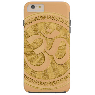 IPHONE6CASE-GOLDEN OM CHAKRA SEAL TOUGH iPhone 6 PLUS CASE