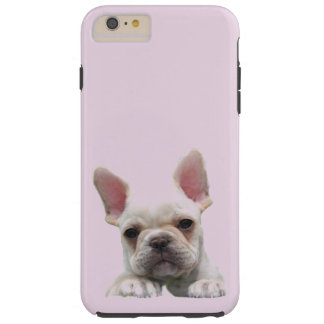 IPHONE6CASE - SWEET FRENCH BULLDOG PUPPY TOUGH iPhone 6 PLUS CASE