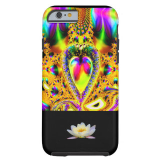 IPHONE6CASE - THE JEWELED LOTUS HEART! LOVE! TOUGH iPhone 6 CASE