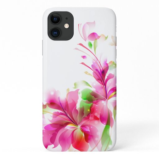 iPhone 11 Case-Tropical Floral  iPhone 11 Case