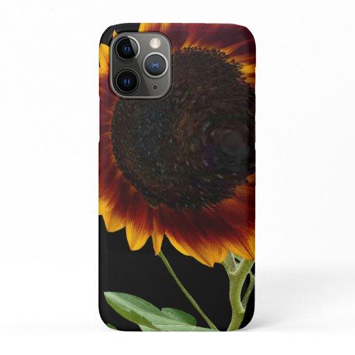 iPhone 11 Pro Sunflower Case