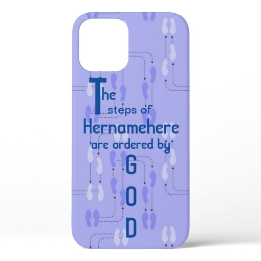 iPhone 12 - Steps of Righteous Customized Name iPhone 12 Case