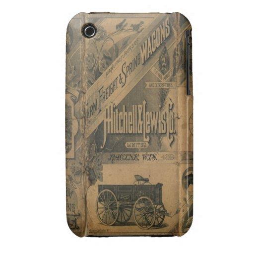 iPhone 1885 de la casamata de los anuncios del iPhone 3 Case-Mate Carcasa