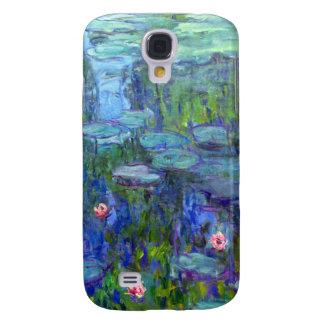 iPhone 1915 de los lirios de agua de Monet 3 Funda Para Galaxy S4
